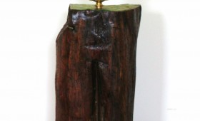 NEW: Log Cabin Table Lamp 3