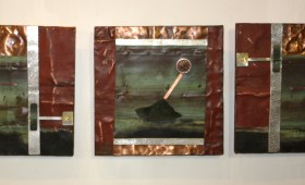 3D Metal Collage 37 – Triptych       SOLD