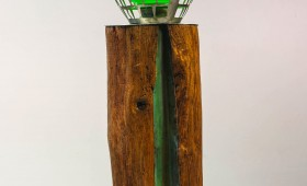Log Cabin Table Lamp 1